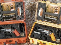 S&W's new Emergency Survival kits include sidearms plus emergency tools in a waterproof,floatable case.