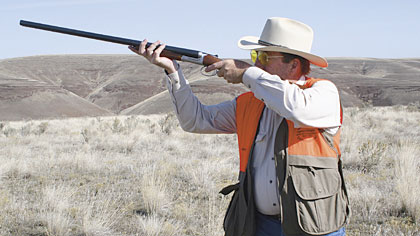 According to the Sheriff, the 28 gauge is an upland shooter's dream.