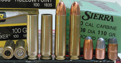 The classic .30 Carbine is not just a nice little carbine cartridge. It's great in a revolver, too.