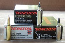 Winchester's second .270-caliber cartridge in its history is also its second entry in the Winchester Short Magnum series. And a new 7mm WSM is here, too.