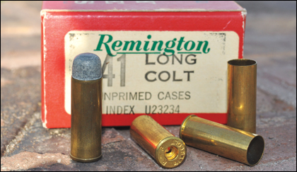 Encountering a .41 Colt is rare. Encountering two in separate crimes is positively amazing.