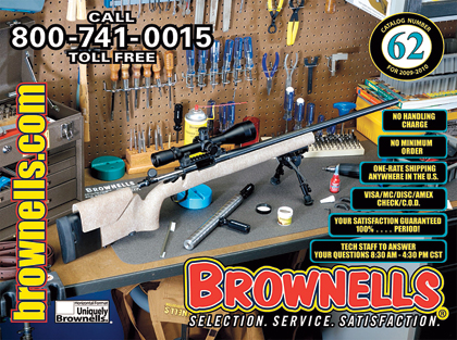 The newest wishbook of gun goodies and gunsmithing supplies from Brownells...
