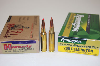 6.5 Creedmoor Ammo vs .260 Remington Ammo