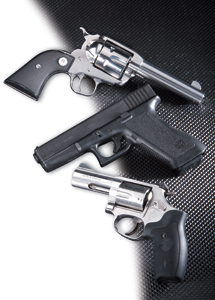 There have been a lot of significant innovations in handguns since Shooting Times was born in 1960. Here are a few models that particularly deserve mention.