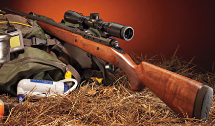 The Lightest Wood Stocked Rifle