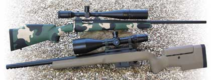 Nighthawk's Ultra-Accurate Bolt Rifles