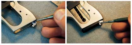 By Reid Coffield    A new magazine latch is needed to make this small pocket pistol