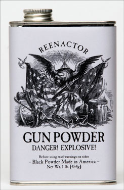 Making history again with Goex's new Reenactor Gunpowder.