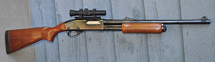 "My favorite ""social work"" shotgun is a 12-gauge Remington 870P from 1978."
