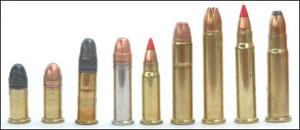 Penetration comparison Ammunition