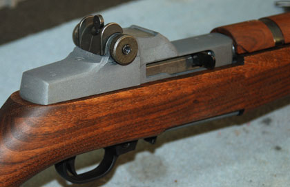 In the first two parts of this series, I took a standard-production Ruger 10/22 rifle and began the process of converting it into a close copy of the M1 Garand.