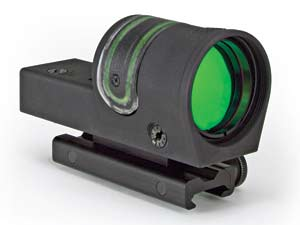 The new Trijicon RX30 nonmagnified, self-luminous reflex sight features a large 42mm clear aperture lens for a generous field of view that offers both the biggest sight picture available and better illumination than ever before.