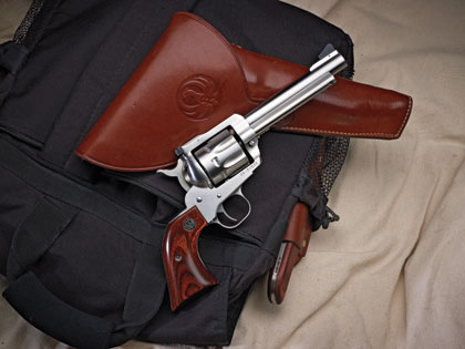Ruger's new-for-2010 Blackhawk in .327 Federal Magnum is one terrific trail gun.