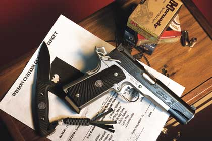 By Greg Rodriguez    Every Master Grade pistol is guaranteed to shoot 1 inch or
