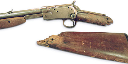 The Charles Daly Model 1892 Take Down Rifle Is Built For Cowboy Action