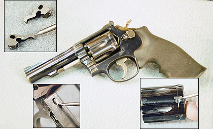 By Reid Coffield    How many times have you picked up a used revolver and noticed