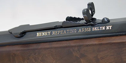 Henry's octagon-barreled .22 Magnum rifle embodies the handling qualities and styling that make lever actions so popular, and it combines them with a powerful rimfire cartridge and modern manufacturing methods.