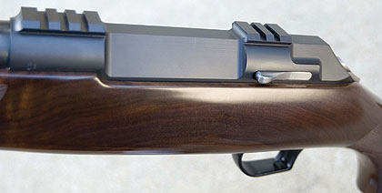 Thompson/Center's bolt-action rifle couldn't be more aptly named.