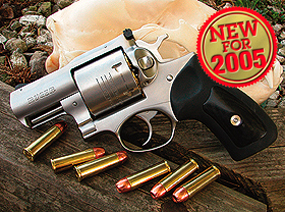 Ruger's newest offering in its heavy-duty double-action revolver line is the