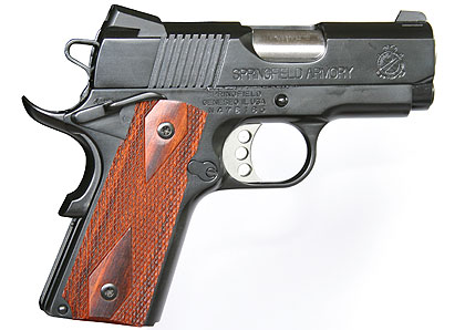 Springfield's mini- .45 is a perfect match for the compact but powerful .45 GAP cartridge