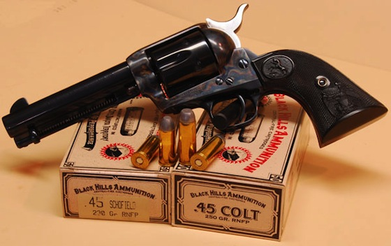 The classic Colt SAA has sleek, graceful lines that have made it an American icon.