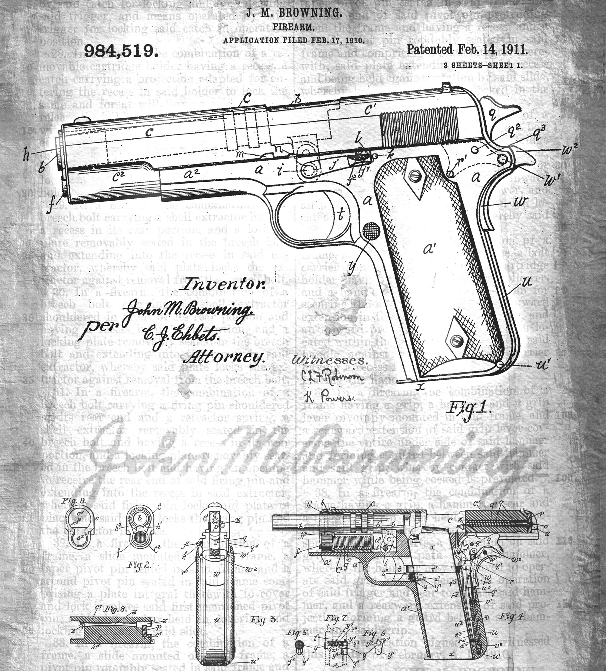 List Of Synonyms And Antonyms The Word Colt 1911 Schematic Exploded Diagram For A