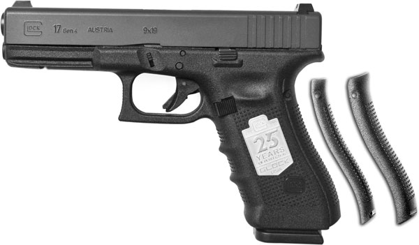 Glock is offering a new Silver Anniversary Model 17 Gen4 9mm pistol