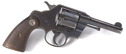 The Official Police was a rugged, no-frills revolver designed for hard duty.