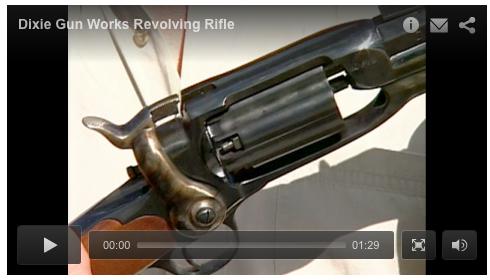 Dixie Gun Works Revolving Rifle