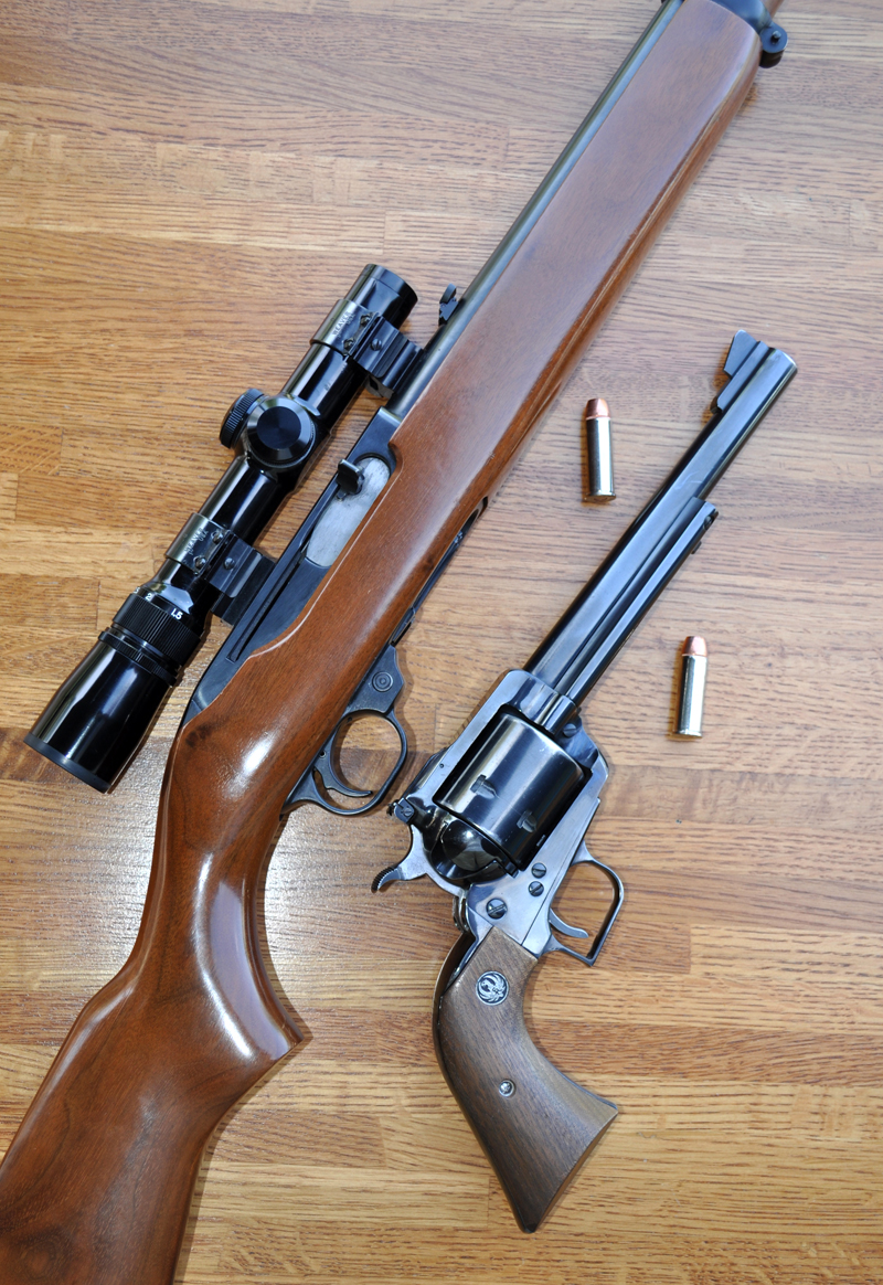 The idea of having a handgun and a rifle or carbine that shoot the same cartridge is an old one,