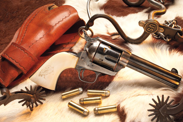 The Colt Peacemaker is quite easily the most recognized handgun of the American West, immortalized in the art and photographs of the time and in thousands of cinematice productions since then.