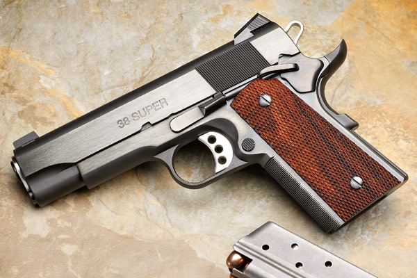 Two years ago I reviewed the full-size Les Baer Custom Premier II 1911 in .38 Super, and I liked