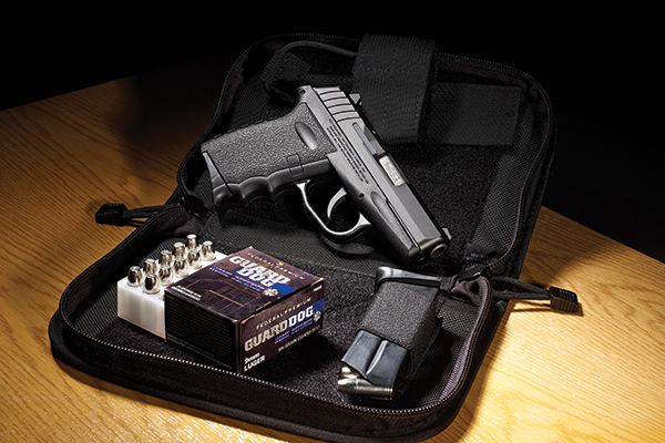 Have you seen anything about the new SCCY Industries compact, polymer-frame, 9mm auto pistol? It's