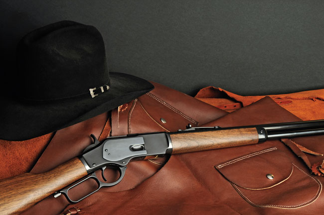 Winchester Repeating Arms has resurrected the historic Model '73 lever action, and it sure is a smooth operator.