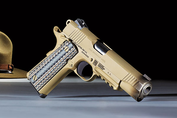 The M45A1 Close Quarters Battle Pistol (CQBP) was announced on July 20, 2012, chosen from three