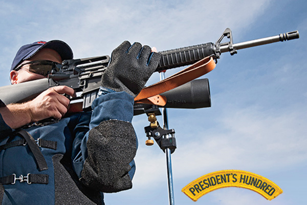 The President's 100 is a National Trophy rifle competition that is fired annually at Camp Perry,