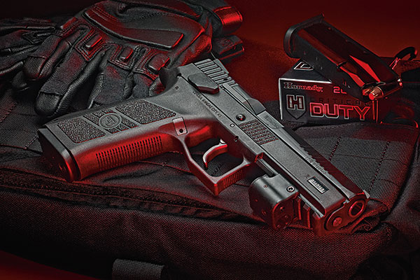 The P-09 is the latest in a line of handguns manufactured by Ceska Zbrojovka, or CZ for short. The