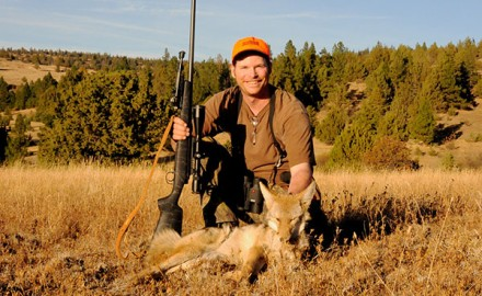 Most hunters will agree the best round for shooting a coyote is the one you have when you spot Wile