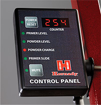 The new Hornady Lock-N-Load Control Panel works in conjunction with the Hornady Ammo Plant. The