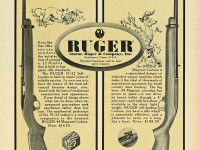 "Billed as the ""ultimate .22 RF self-loader"" by Ruger in 1964 advertisements, the 10/22 is arguably the king of the hill today."