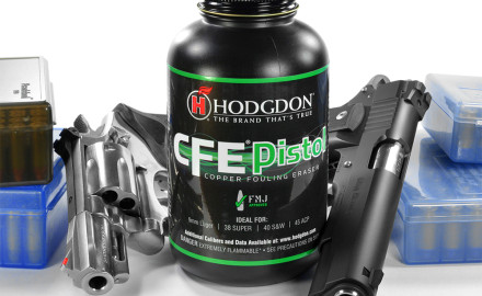 Hodgdon introduced a new gunpowder to pistol shooters known as CFE Pistol