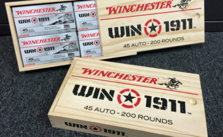 Winchester Ammunition is offering some extra grain — woodgrain, that is — with their
