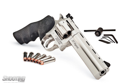 The classy Dan Wesson Model 715 double-action revolver is back in production. For revolver lovers,