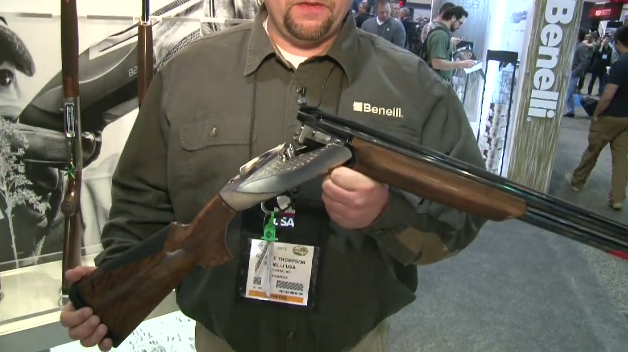 Benelli Goes Over/Under With New 828U Shotgun