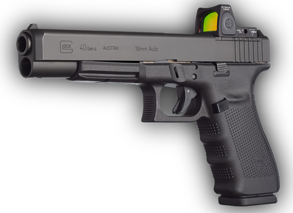 New for 2015, Glock introduced the optics-ready 10mm G40.