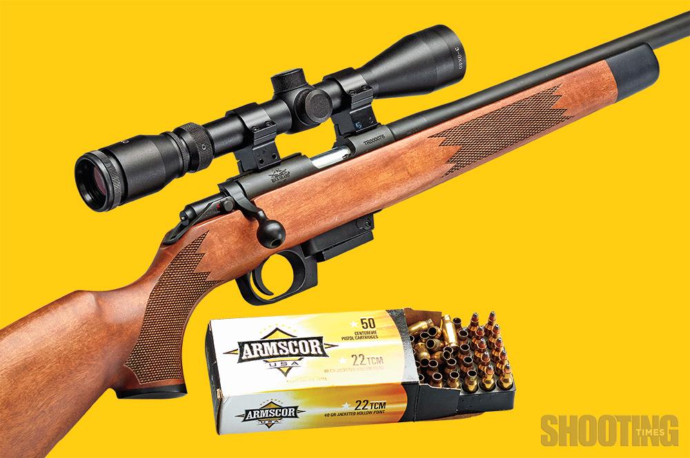 Fast & Fun: Rock Island Armory  22 TCM Rifle Review