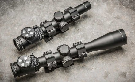 Trijicon is adding two new riflescopes to its popular AccuPoint line in 2015: a 1-6x24mm and a