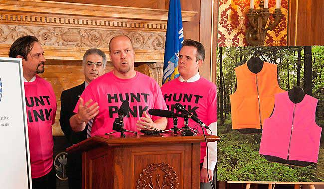 Wisconsin Bill to Allow Blaze Pink Camo for Hunting