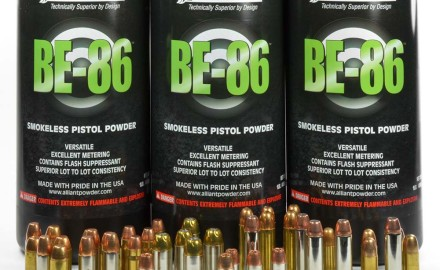 Alliant recently introduced a new pistol powder to handloaders, BE-86, that offers high performance