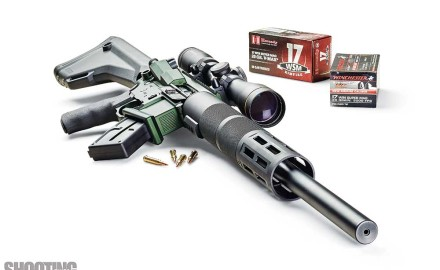 Franklin Armory created the first AR-style rifle to fire the speedy .17 WSM rimfire round. The